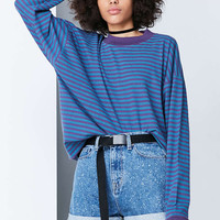 BDG Ferris Striped Ringer Tee - Urban Outfitters