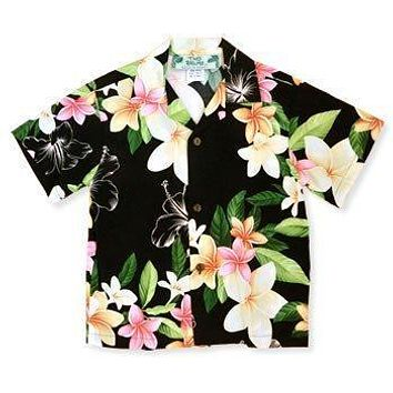 pebble hawaiian boy shirt