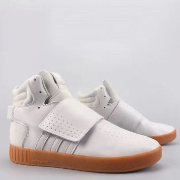 Adidas Tubular Invader Strap Fashion Casual High-Top Old Skool Shoes-14