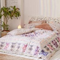 Evie Medallion Duvet Cover | Urban Outfitters