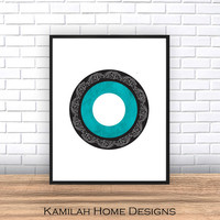 Abstract Art Print, Printable Art, Geometric Art Print, Scandinavian Art, Wall Decor, Wall Art, ,Large Wall Print, Digital Download