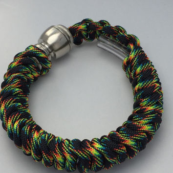 Galaxy 550 Paracord Secret Pipe Bracelet w/ FREE SHIPPING
