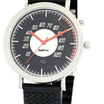 Speedometer Watch in Red or Black