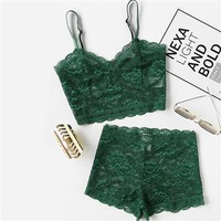 Two Piece Sexy Elegant Lingerie Sets