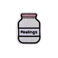 Bottled Up FEELINGS Iron On Patch