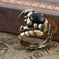 Men's Scorpion Vintage Band Rings