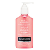NEUTROGENA® OIL-FREE ACNE WASH PINK GRAPEFRUIT FACIAL CLEANSER | NEUTROGENA®