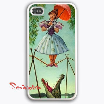 Haunted Mansion Stretching Painting iPhone 4 Case, iPhone 4s Case,  iPhone 4 Hard Case, iPhone Case