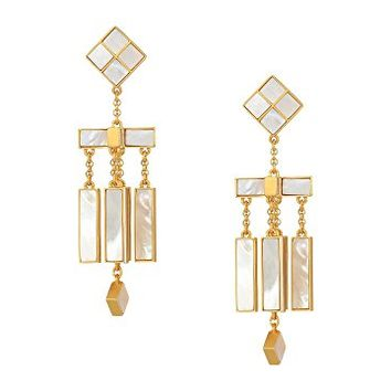 Tory Burch Epoxy Mobile Earrings