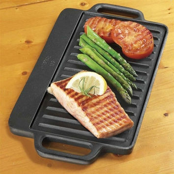Pre-Seasoned Cast Iron Reversible Griddle
