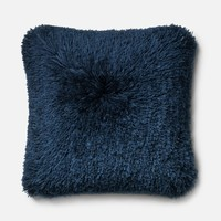 Loloi Navy Decorative Throw Pillow (P0191)