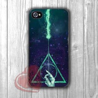 Harry Potter Deathly Hallows symbol with wand galaxy -dtw for iPhone 4/4S/5/5S/5C/6/ 6+,samsung S3/S4/S5,samsung note 3/4