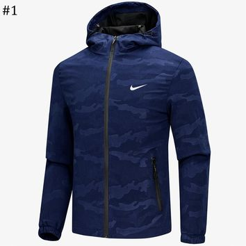 NIKE 2018 spring and autumn new men's casual hooded jacket #1