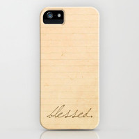 Psalm 84:4 Blessed iPhone Case by Pocket Fuel | Society6