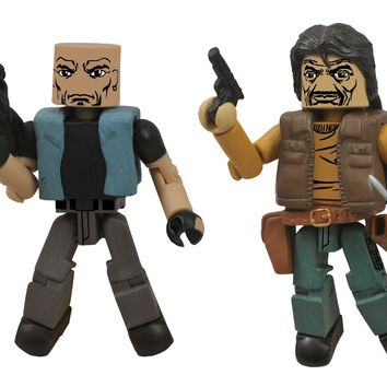 Walking Dead Minimates: Series 4 The Governor and Bruce Action Figure