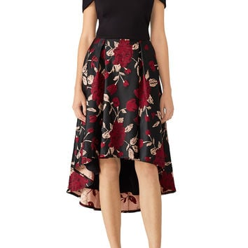 Hutch Floral High Low Dress
