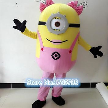 The new exotic minions mascot costumes and adult costumes are shipped free of charge