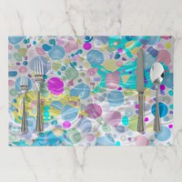Water Ripples Paper Placemat