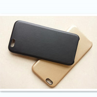 PUre Color Anti-Shatter Phone Case Cover in  PU for iPhone 6S & iPhone 6S Plus