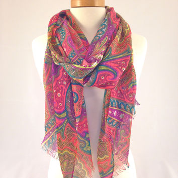 Lunch In Morocco Scarf