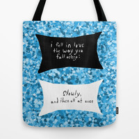 The Fault in Our Stars #2 Tote Bag