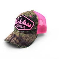 Pink Patch Hat