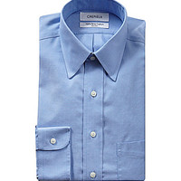 Cremieux Regular-Fit Point-Collar Oxford Dress Shirt - Ultramarine