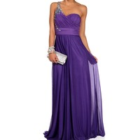 Sale-mori-bright Lilac Prom Dress