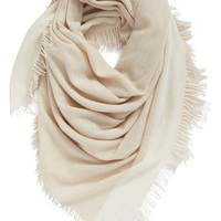 Eileen Fisher Colorblock Wool & Cashmere Wrap | Nordstrom