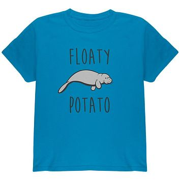 Floaty Potato Manatee Youth T Shirt