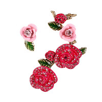 HOLIDAY PARTY ROSE EAR CUFF: Betsey Johnson
