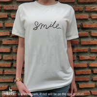 Be Smile Be Happy TShirt - Tee Shirt Tee Shirts Size - S M L XL XXL 3XL