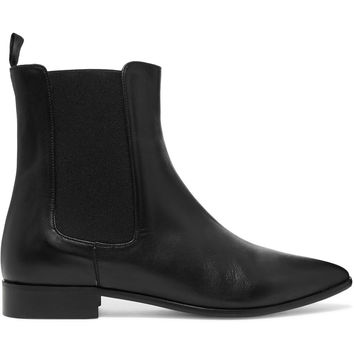 Elena leather ankle boots | Iris and Ink | US | THE OUTNET