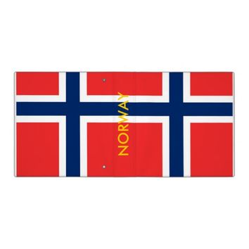 Binder with Flag of Norway