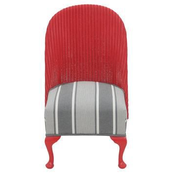 Ralph Lauren Cane-Back Slipper Chair
