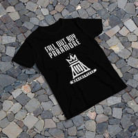 "THE SAMPLE size of the print image on the T-Shirt 12""x16"" Fall Out Boy"