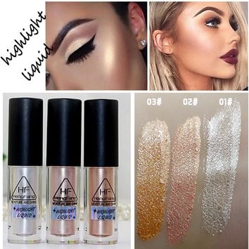 New Brand Makeup Liquid Eye shadow Shimmer Powder Palette Contour White Eyeshadow maquiagem