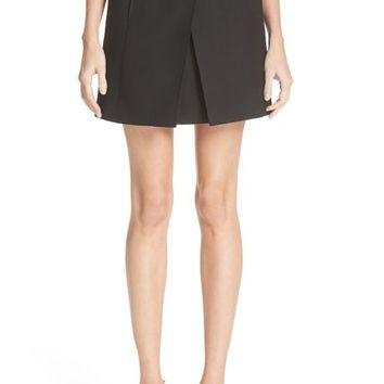 Valentino Wool & Silk Envelope Skirt | Nordstrom