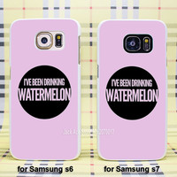 Watermelon  case cover for Samsung Galaxy s3 s4 s5 s6 s6edge s7 s7edge  case