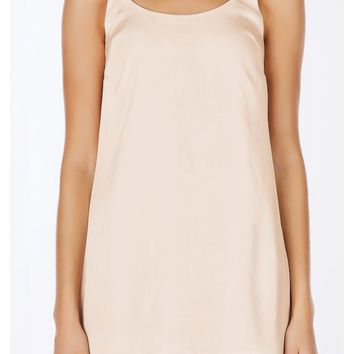 No Place Like Home Slip Dress