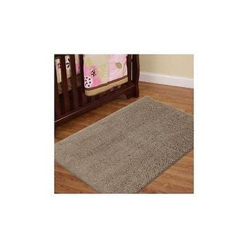 "Mohawk Home Decorative Habitat Shag Area Rug 2'6"" X 3'8"" Taupe"