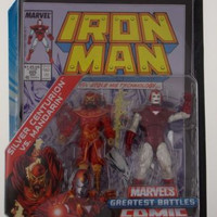 Marvel Universe Iron Man Silver Centurion Mandarin Greatest Battles Comic Book
