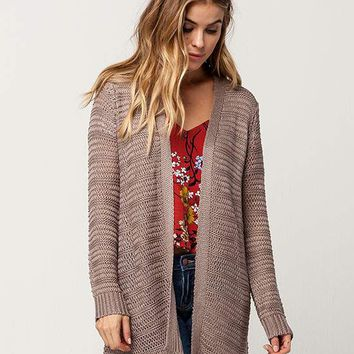 IVY + MAIN Open Stitch Womens Cardigan | Cardigans + Wraps