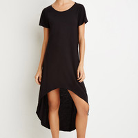 Curved-Hem T-Shirt Dress