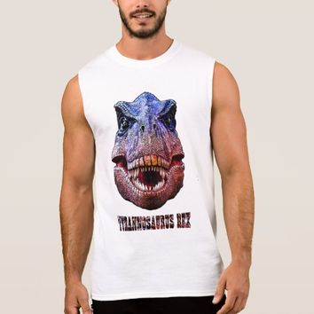 Tyrannosaurus Rex King Of Predators Sleeveless Shirt