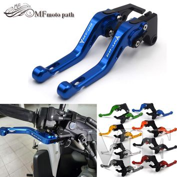 For YAMAHA MT 09 MT-09 Tracer 2014-2015 2016 Motorcycle Accessories Short Brake Clutch Levers LOGO MT-09