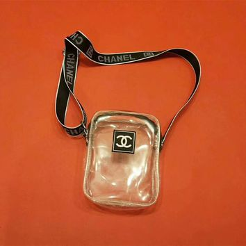 Chanel PVC Transparent Mini Shoulder Bag