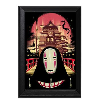 Spirited Away With Mouth Decorative Wall Plaque Key Holder Hanger