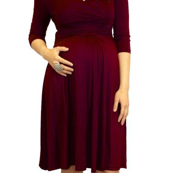 Short Maternity Dress