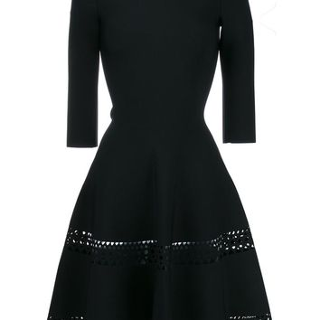 Laser Cut Fitted Dress - AZZEDINE ALAÏA